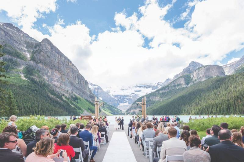Vintage Romantic Banff Wedding | Banff