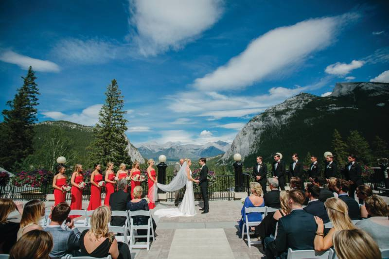 Caroline and Scott's Southern Soiree in the Mountains | Banff