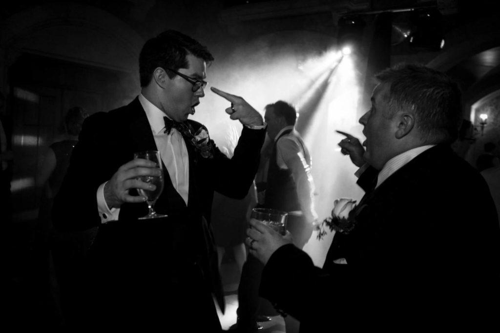 Austin and David's Cozy Woodland Wedding | Calgary