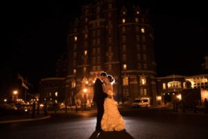 Misty and Romantic Fairmont Banff Springs Wedding | Banff