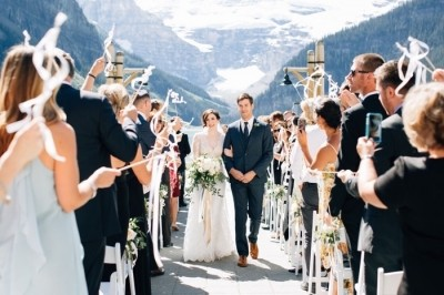 Fairmont Lake Louise Romantic Woodland Wedding | LFW