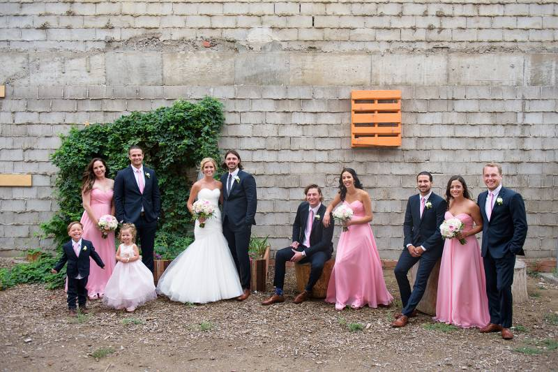 Alyssa and Craig's Romantic Pink Wedding | Medicine Hat