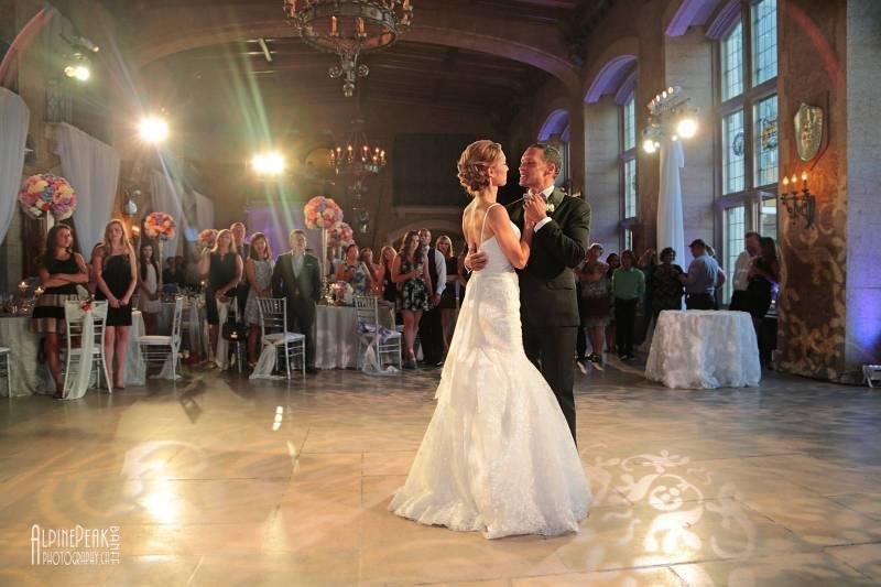 Arlene and Matthew's Pastel Banff Wedding | Banff
