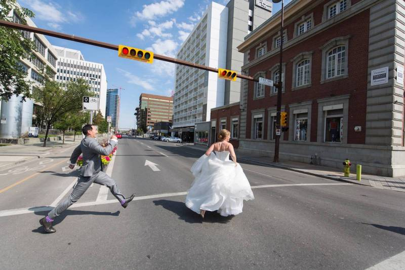 Jan-Marie and Jeff's Pink and Gold Wedding | Calgary