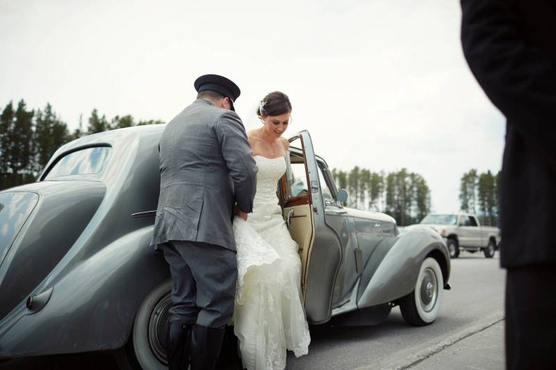 Ashley and Connor's Rustic Mountaintop Wedding | Lake Louise