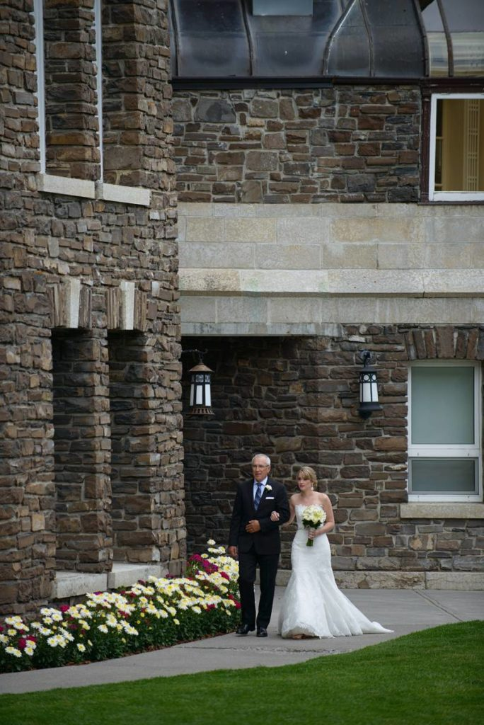 Glynis and Wade's Elegant Fairmont Banff Springs Wedding | Banff