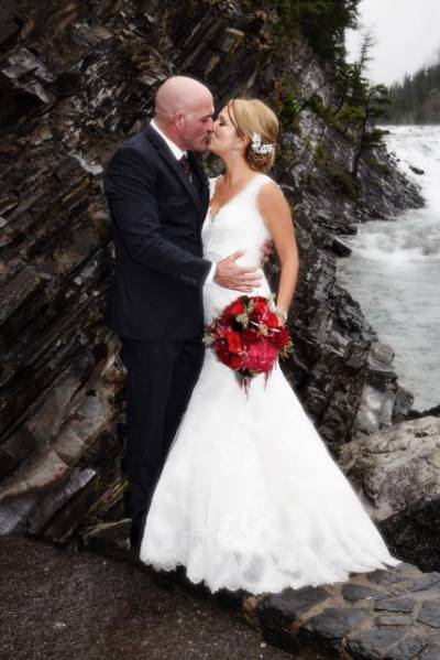 Deanna and Trent's Banff Springs Wedding