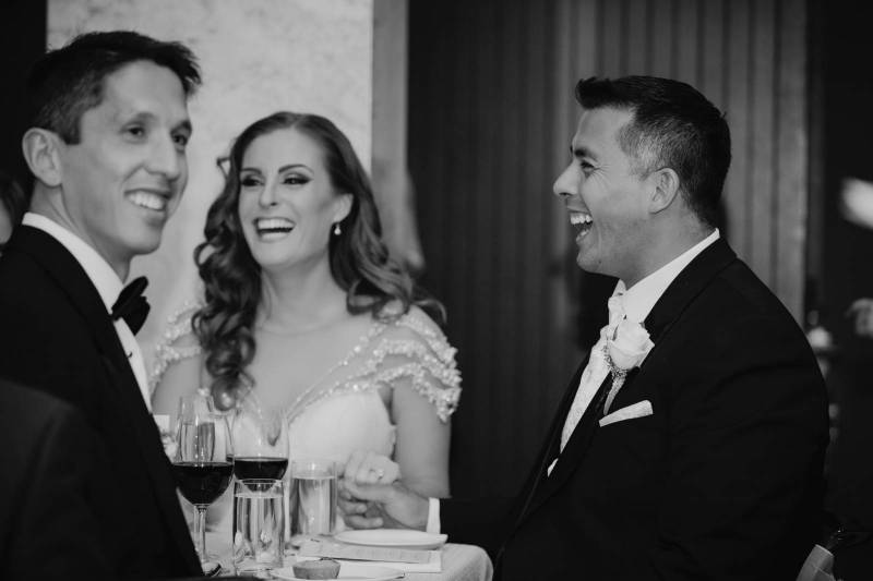 Sophie and Dionysius' Elegant Modern Wedding | Calgary