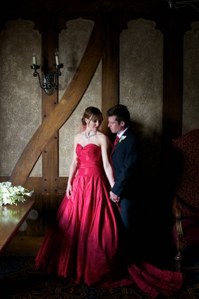 Shannon and Thomas' Gothic Elegant Banff Wedding | Banff