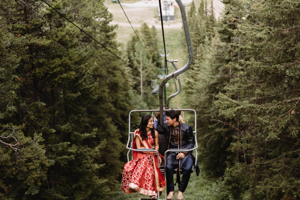 Pallavi & Phil's Wedding - Calgary, Banff Wedding Planner | LFW